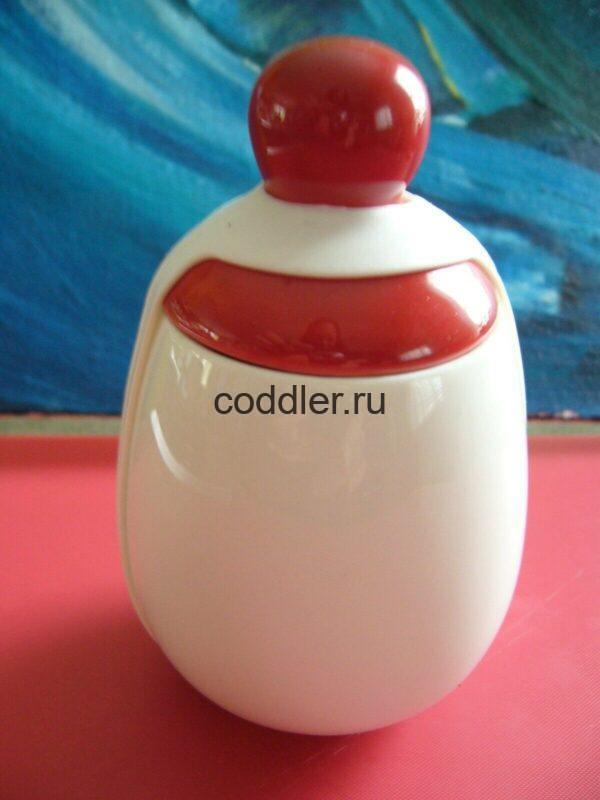 """Кодлер немецкий """"Разноцветный"""" красный на одно яйцо"""